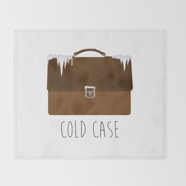 Cold Case Throw Blanket