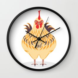 Cute Chicken Wall Clock