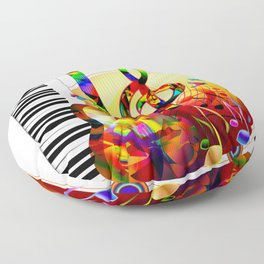 Colorful  music instruments pa...