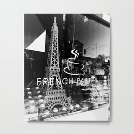 French Pastry Metal Print