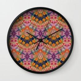 Pattern 8 Shambala Wall Clock