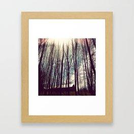 The Getaway Framed Art Print