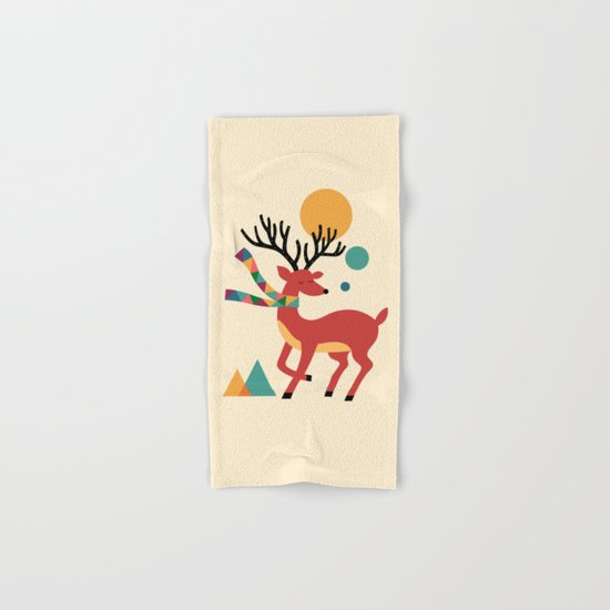 Deer Autumn Hand & Bath Towel