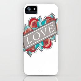 Love & Roses iPhone Case