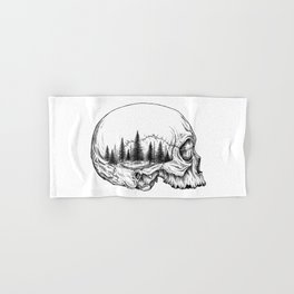 SKULL/FOREST Hand & Bath Towel