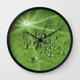water beads Wall Clock