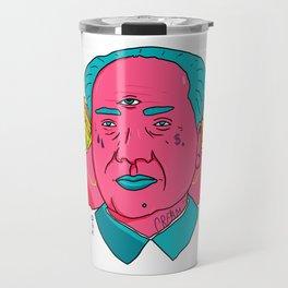 Neoliberal Mao Travel Mug