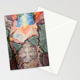 ladder of love Stationery Cards