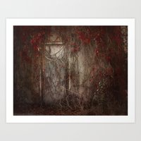 Door to the Heart Art Print