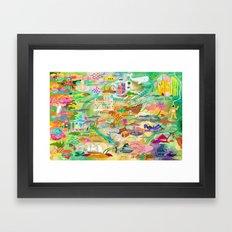 20,000 Leagues Framed Art Print