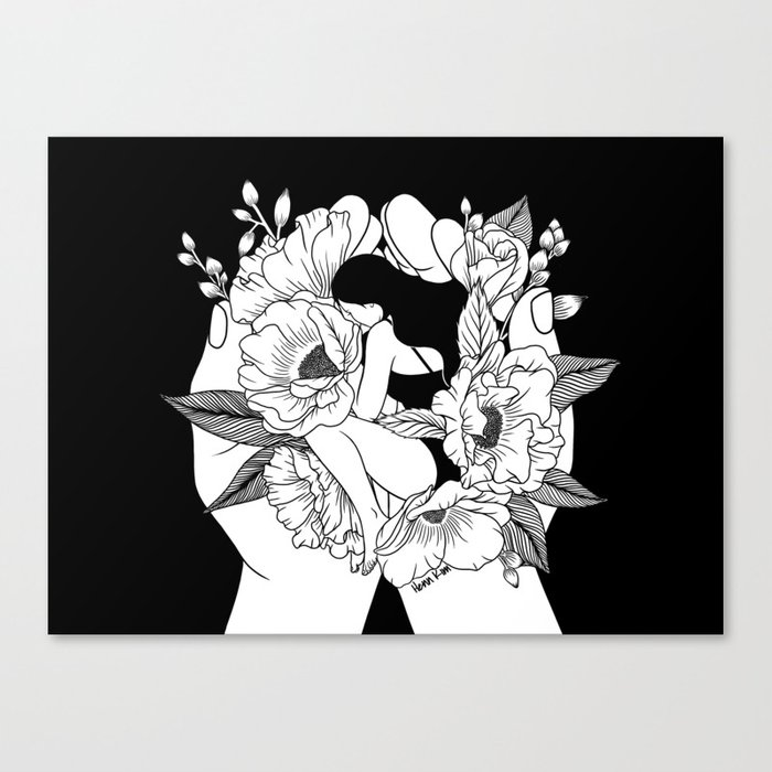Natural Woman Canvas Print