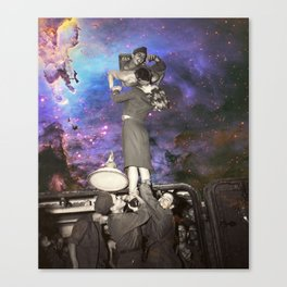 Space War Goodbyes Canvas Print