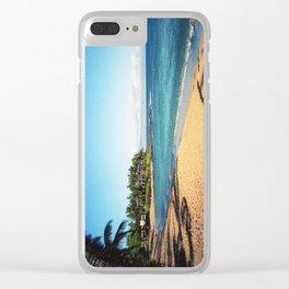 Napili Bay Beach Clear iPhone Case