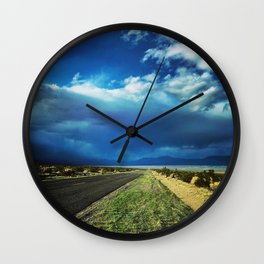 Desert Storm in Death Valley Wall Clock