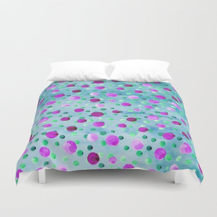 Polka Dot Pattern 10 Duvet Cover