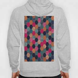 Colorful Honeycomb Hoody