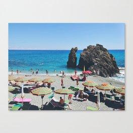 Spiaggia di Fegina Canvas Print