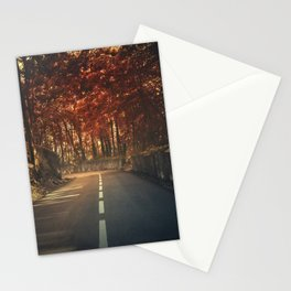 On the turning Stationery Cards