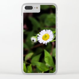Daisy in the Forest Clear iPhone Case
