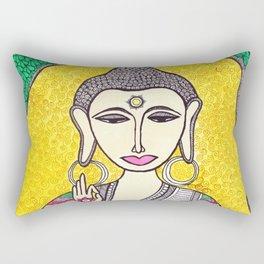 Lord Buddha Rectangular Pillow