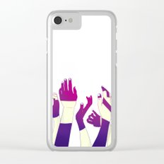 Crowd Clear iPhone Case