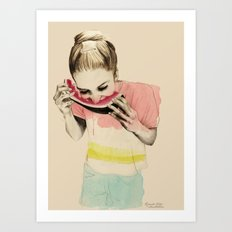 Summer Feelings Art Print