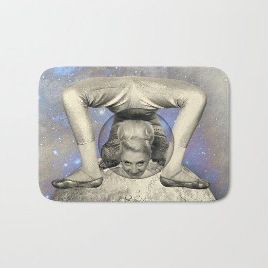 COSMIC CONTORTIONIST Bath Mat