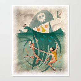 The Captain's Beard Canvas Print