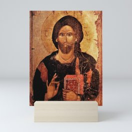 Jesus Christ Pantocrator Mini Art Print