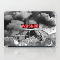 gta iPad Cases featuring Wasted GTA by JOlorful