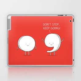 positive punctuation Laptop & iPad Skin