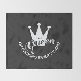 The Queen Throw Blanket