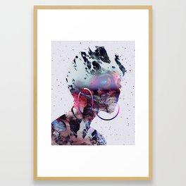 Le regard de Dieu Framed Art Print