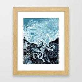 splash! Framed Art Print