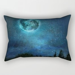 Planetary Soul Haven Night Rectangular Pillow
