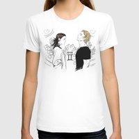 gemini T-shirts featuring Gemini by Cassandra Jean
