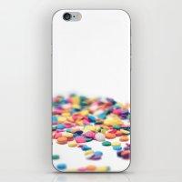 sprinkles iPhone & iPod Skins featuring Sprinkles by Dena Brender Photography