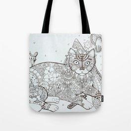 Maghreb cat (2) Tote Bag