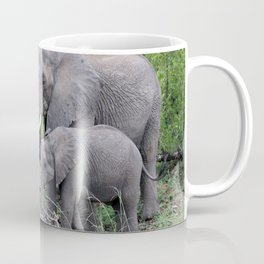 elephant family in africa Coffee Mug
