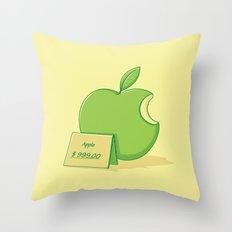 Marketing power Throw Pillow