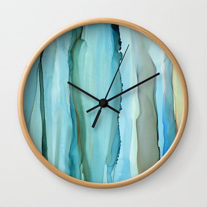 Dance With Me - Green 2016 Wall Clock