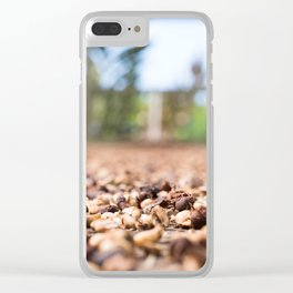 Coffee Plantation 1 Clear iPhone Case
