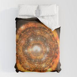 The Eye of Cyma: Fire and Ice - Frame 7 Comforters
