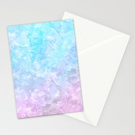 Pastel Scaly Marble Texture Stationery Cards