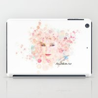 jennifer lawrence iPad Cases featuring Jennifer Lawrence I by Rene Alberto