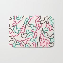 Fantasy pattern. Colour #1. Bath Mat
