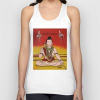 lama Tank Tops featuring Dalí lama by Michelena