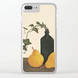 Still Life Art III Clear iPhone Case
