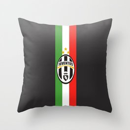 team juventus Throw Pillow