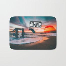 Swag Whale Bath Mat